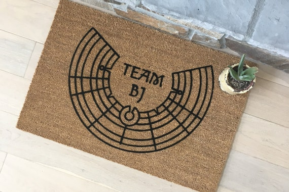 Personalized Doormat / Welcome Mat / Door Mats / Burning Man Mat / Team Decor / Gift for Friend / Team Gift / Unique Gift Ideas / Event Mat