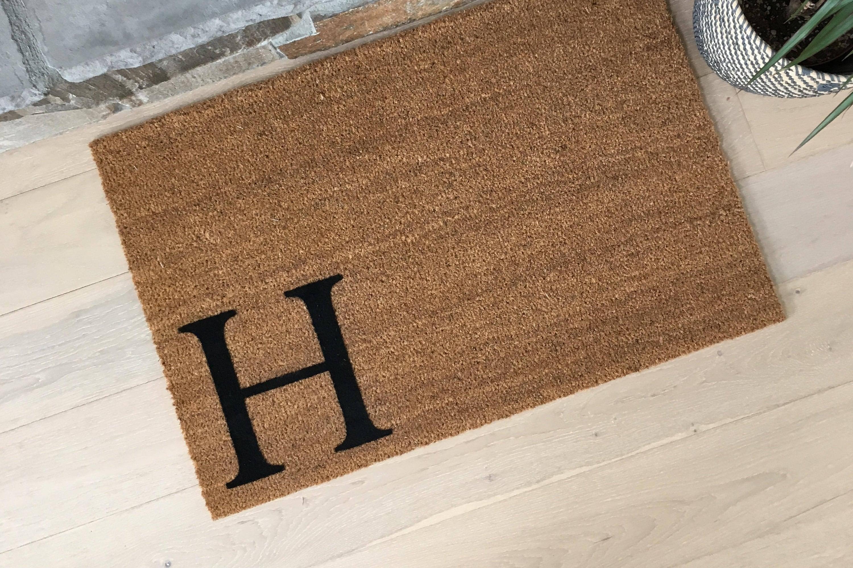 Superieur Monogram Doormat   Coir Doormat   Housewarming Gift   Welcome Mat   Cool Door  Mats