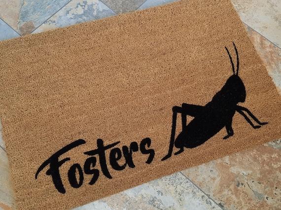 Spring Decorations, Custom Door mat, Spring Door Mat, Cute Home Decor, Garden Lover Gifts, Rugs, Welcome Mat, Garden Decor, Grasshopper