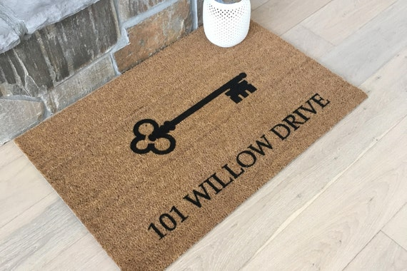 Custom Address Door Mat
