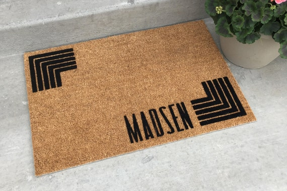 Doorstep Mats - Personalized Door Mat - Coir Door Mats - Contemporary Door Mats - Personalized Gift