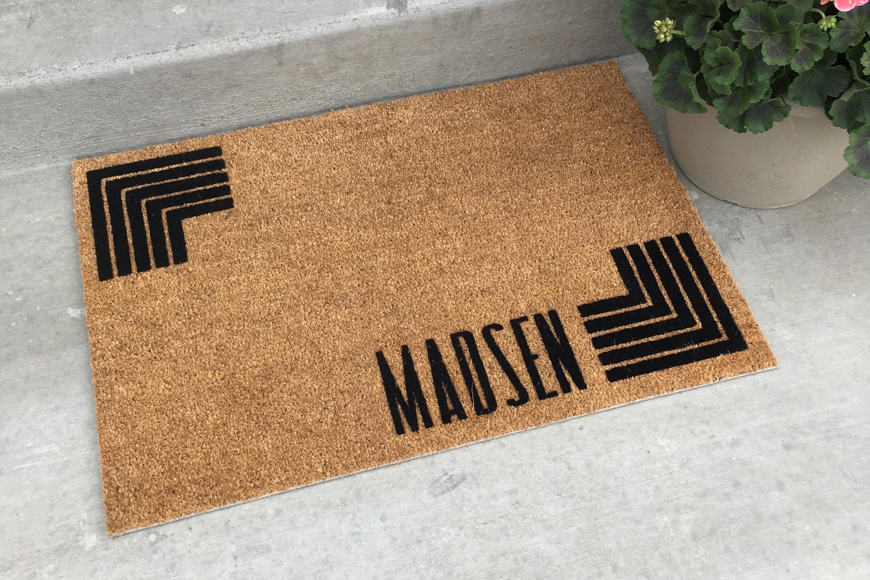 Doorstep Mats - Personalized Door Mat - Coir Door Mats - Contemporary Door Mats - Personalized Gift & Doorstep Mats - Personalized Door Mat - Coir Door Mats ...