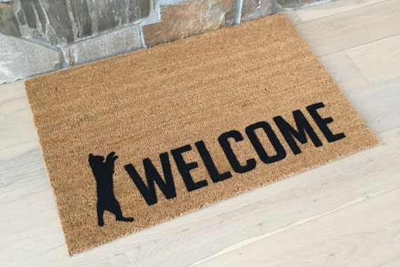 Welcome Mats/Custom Mat/Personalized Mats/Pet Lover Gifts/Door Mat/Cat Lover/ Custom Door Mat/Cat Lovers/All things Cat/ Felines/Fur Babies