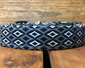 Adam's Collar - Gray Pattern Dog Collar
