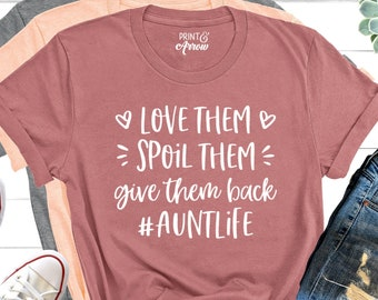Download Auntie shirt | Etsy