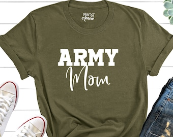 7a0de83b Army Mom Shirt, Military Mom Shirt, Mothers Day Gift, Army Mom Tee, Army  Mom T-Shirt, Navy Mom Shirt, Marine Mom, Gift for Mom, Enlistment