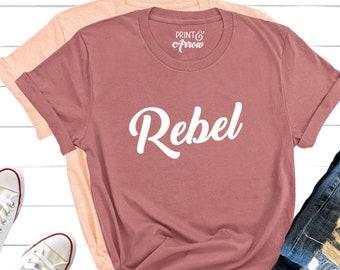 3a5b62438 Rebel Shirt, Badass Shirt, Sassy, Troublemaker Shirt, Feminist Shirt,  Actually I Can, Womens Empowerment, Rebellion Shirt, Gift for Daughter