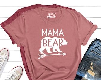 a4436dc2 Mama Bear Shirt, Mom Shirt, Mama Bear, Mom T-Shirt, Mommy Shirt, Mother's  Day Gift, Christmas Gift for Mom, Christmas Gift for Wife