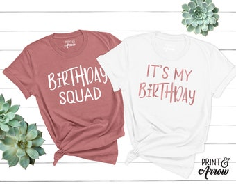 Its My Birthday Shirt Squad Thirty Af Girl B Day Happy For Women