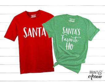 Christmas Pajamas Couple Etsy