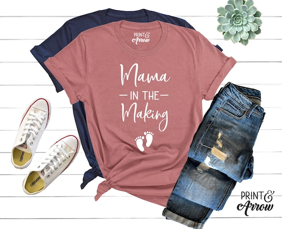 Mama In the Making Shirt Pregnancy Announcement Shirt