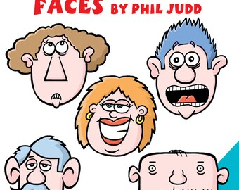 How to Draw Funny Cartoon Faces by Phil Judd (Paperback, 2016)