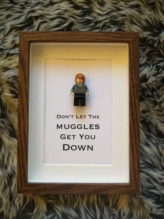 DON/'T LET THE MUGGLES GET YOU DOWN  HARRY POTTER XMAS GIFT BIRTHDAY KIDS HOODIE