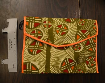 Ghana Tribal Print Clutch Purse