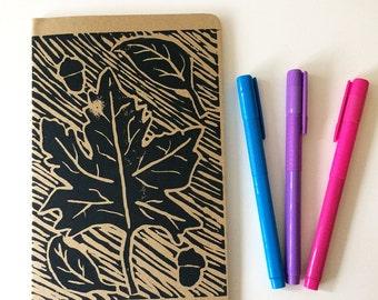 Leaves Blank Journal
