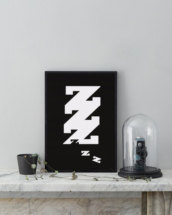 Gifts For Men, Bedroom Wall Art, Typography Print, Minimalist Art, Black  and White Prints, Original Art, Modern Wall Art, Husband Gift