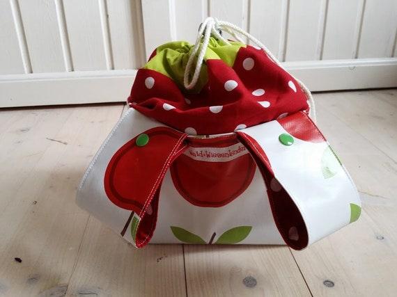 Handlebar bag for wheelchildren/'s wheelscooter birds