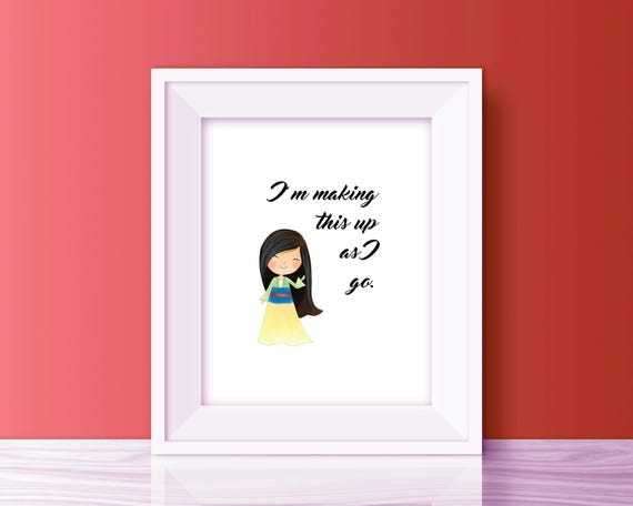 mulan disney princess quote mulan quotes printable disney