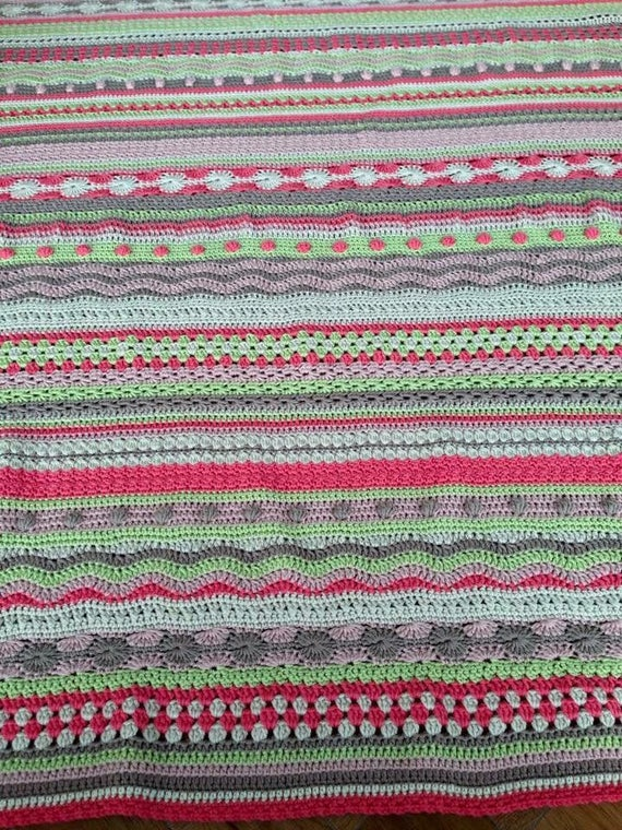 Mixed Stitch Blanket Crochet Workshop -  Fri 15th March, Fri 22nd March, Fri 29th March, 10-12noon