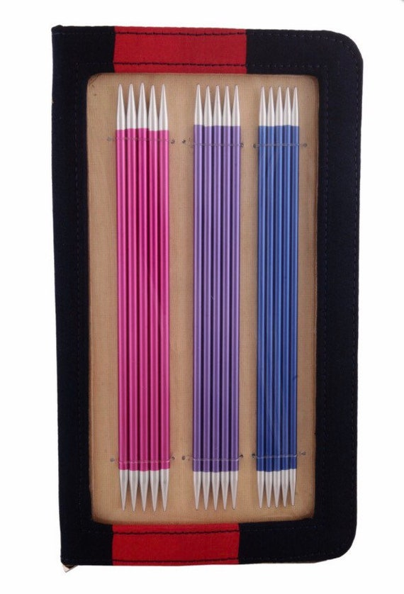 Knit Pro Zing Set of Double Pointed Knitting Needles, 15cm long