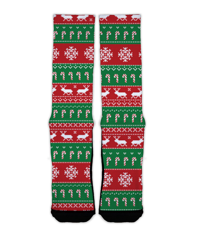 Ugly Christmas Sweater SectorApparel Socks | Etsy