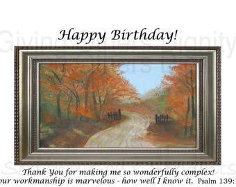 Bible Birthday Card