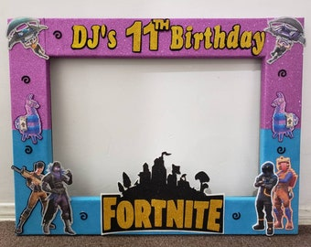 Men S 50th Photo Booth Frame Birthday Party Vintage Dude