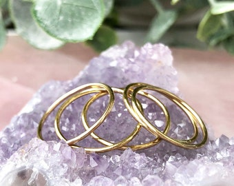 Stacking Rings, Simple Rings, Minimalist Ring, 14kt Gold Filled Ring, Thin Band Ring, Delicate Gold Ring, Ring Stack, Sterling Silver Rings