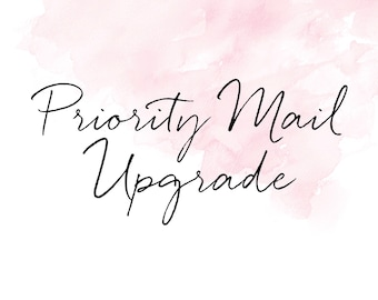 Priority Mail 1-3 day UPGRADE