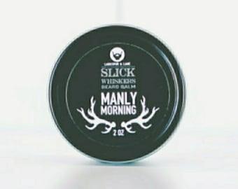 Beard Balm - Natural Balm, Men, Men's, Gift, Favors, Grooming, Essential Oil, Organic, Facial Hair, Lavender, Cedarwood, Hydrating Balm