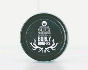 Beard Balm - Natural Beard Balm, Men, Men's, Gift, Favors, Grooming, Essential Oil, Organic, Facial Hair, Cinnamon, Clove, Hydrating Balm