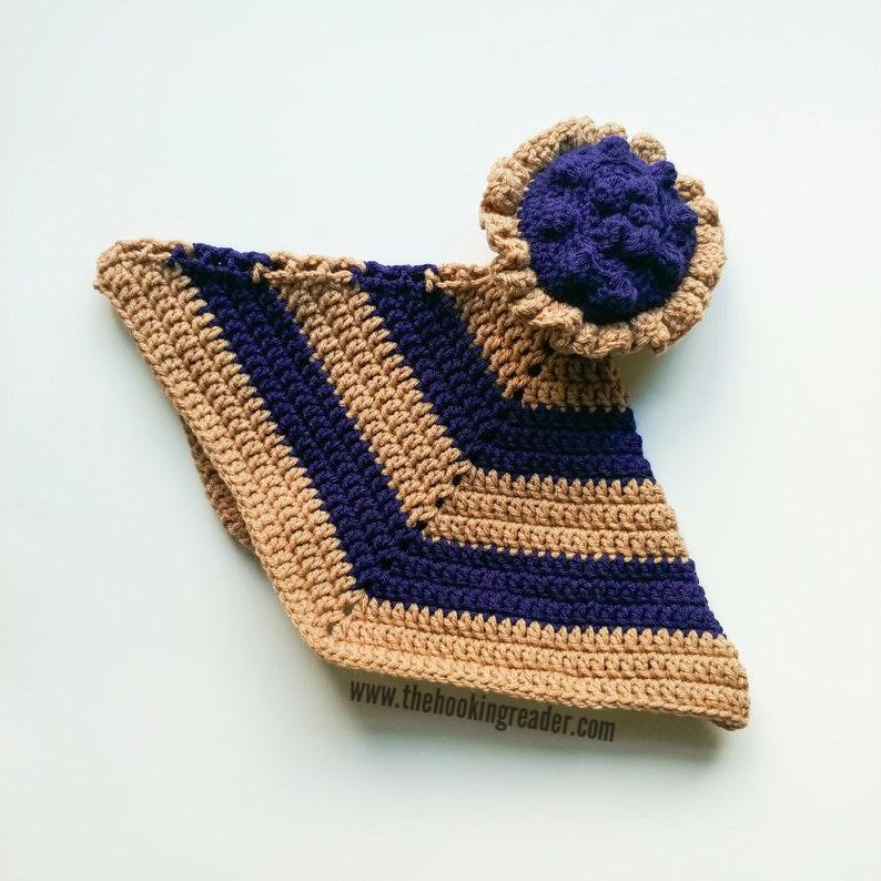Blueberry Pie Lovey Crochet Pattern  PDF PATTERN ONLY  image 0