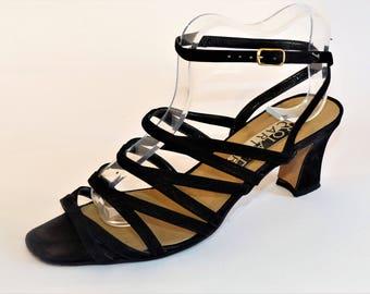 09bada7fbec Women's Gladiator & Strappy Sandals - Vintage   Etsy UK