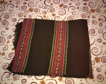 Traditional Bulgarian rug from Rhodopes mountain region - size 2,90 m x 1,72 m