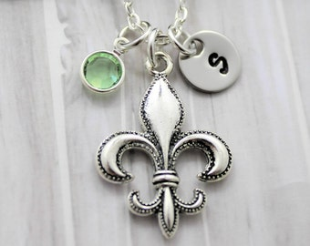 73x46mm - Large Pendants 670 New Orleans Pendant Fleur De Lis Pendant Boho Pendants Metal Pendants Silver Pendants
