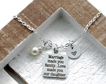 Daughter In Law Necklace