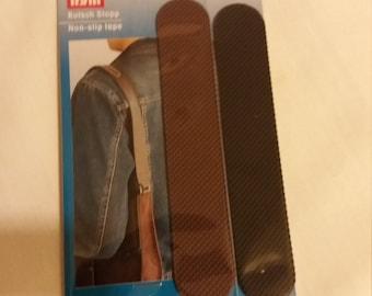 Non slip tape for shoulder bag straps. Computer bags. Shoulder bags. Black.