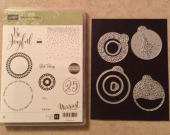 Stampin Up Merriest Wishes - New