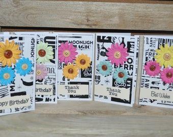 T2 Kit de tarjeta de papel de papel de reciclado