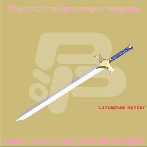 3d printed juan ark sword kit etsy image 0 malvernweather Gallery