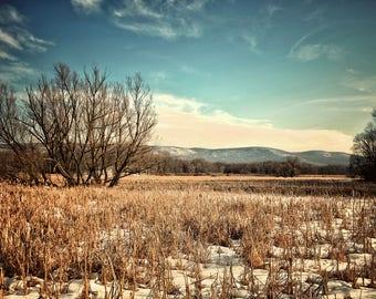 Mountain Photography, Winter Mountain Views
