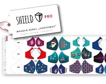 rectangular 50 cm Albstoffe Shield Pro Masks Panel Winter