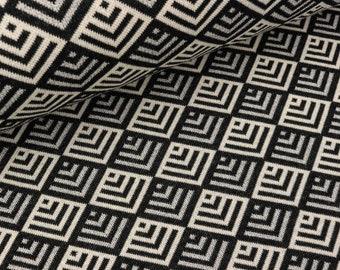 Ajourmuster schwarzgrau 50cm STRICKSTOFF 4,80 €//m STOFF für Pullover