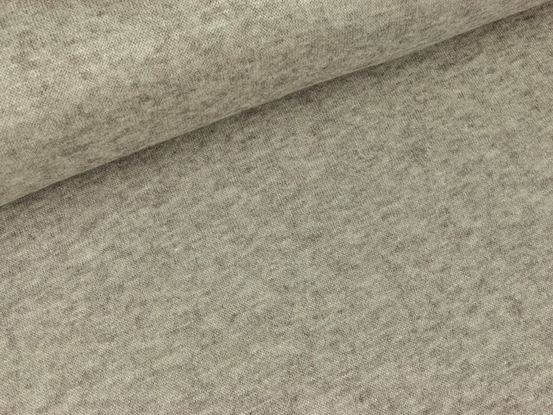 Knitted fabric Max light brown mix 11,00 EUR  meter