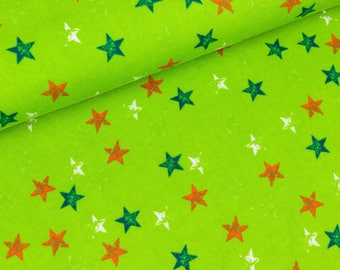 A-line stars brightly on light green (14.90 EUR / meter)