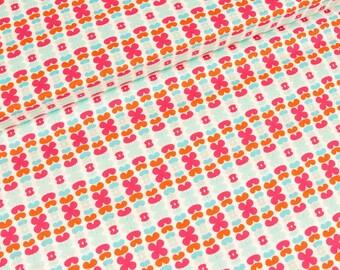 Cotton fabric art gallery color me retro kitchenette raspberry (16,90 EUR / meter)