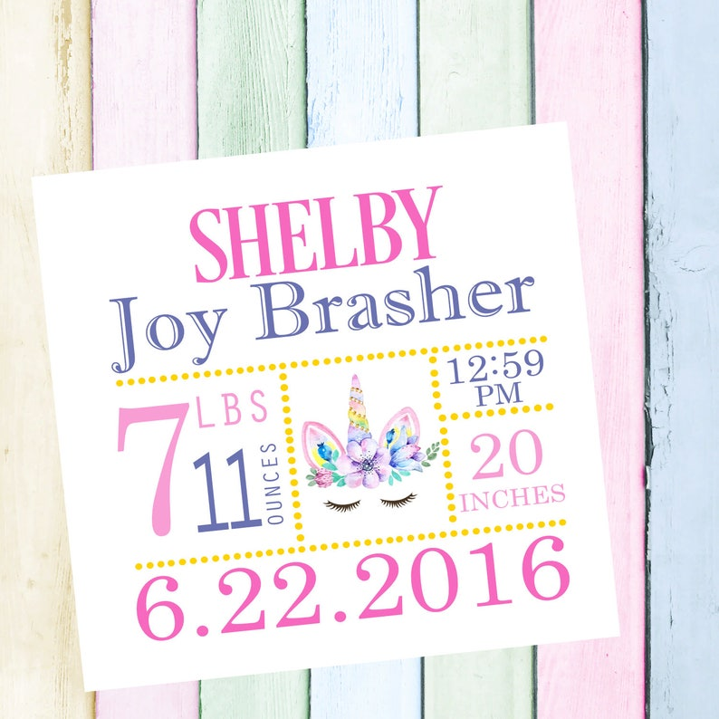 Personalized Quilt Block Free Shipping Ready To Sew Quilt Block Baby Quilt Block Baby Quilt Fabric Baby Quilt Square Birth Announcement