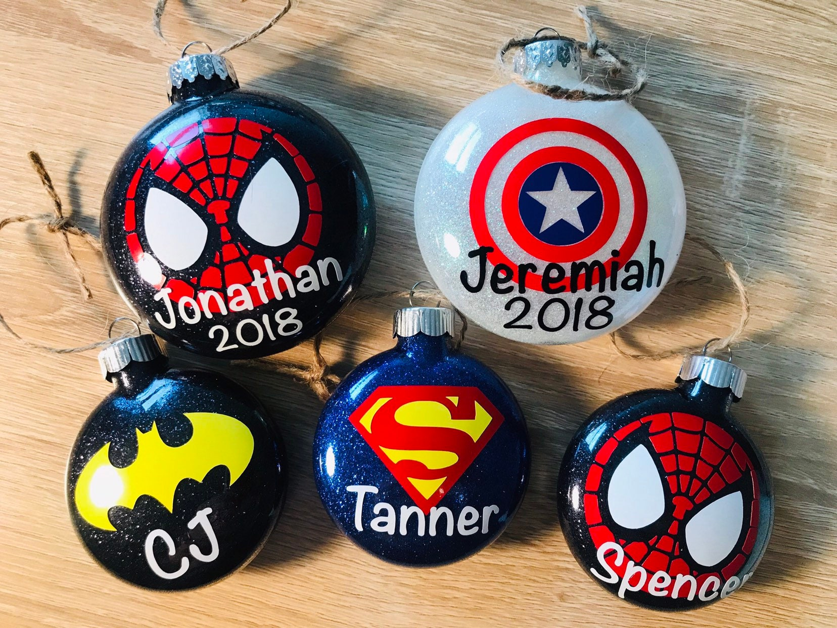 official photos f4227 aff64 Avengers Ornament - Superhero Ornament - Princess Ornament - Marvel  Ornament - Disney Ornament - Christmas Ornament