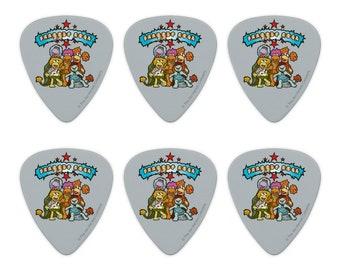 Fallout Shelter Radioactive Safe Zone Novelty Guitar Picks Medium Set of 6