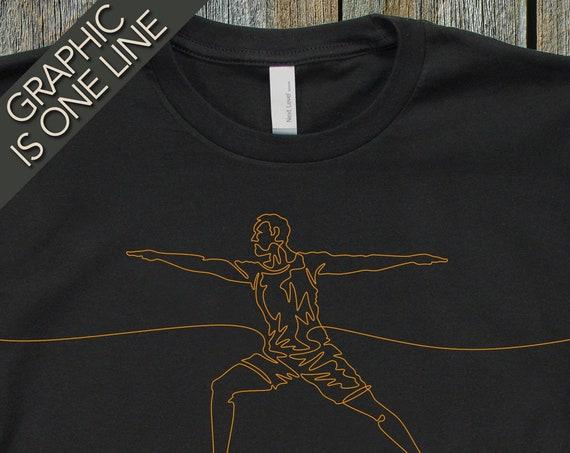 Men's Yoga T-Shirt, Yoga T-Shirts, Men's Yoga Tee, Yoga T-Shirts, Yoga Gift, Yoga Gear, Men's Graphic Tees, Yoga Art, Yoga Tees, Men's Tees